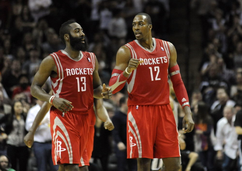 USP NBA: HOUSTON ROCKETS AT SAN ANTONIO SPURS S BKN USA TX